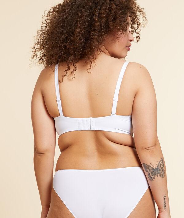 Microfibre cup strapless bra, removable straps;${refinementColor}