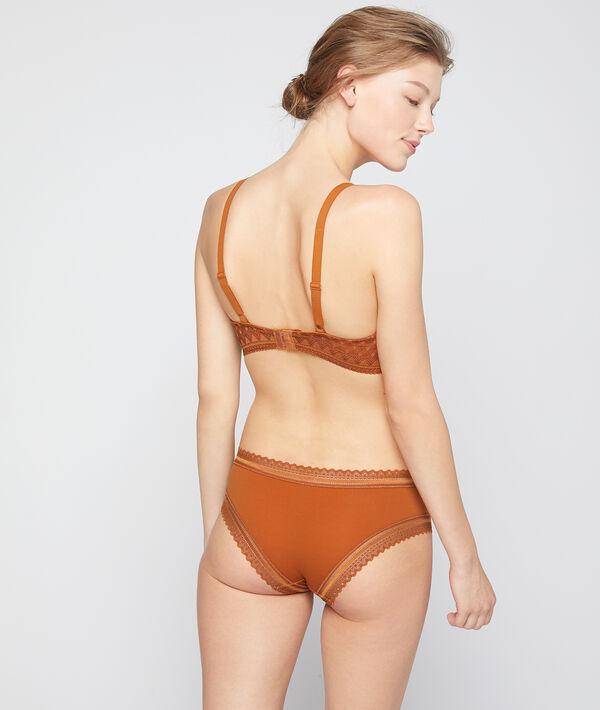 Bra n°4 - micro lace lightly padded bra