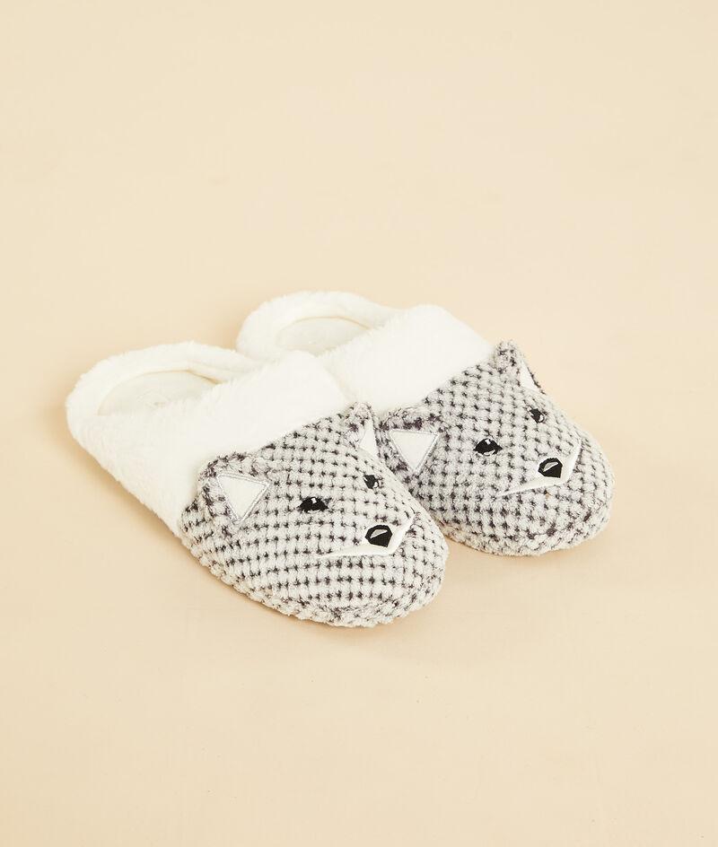 Animal mule slippers ;${refinementColor}