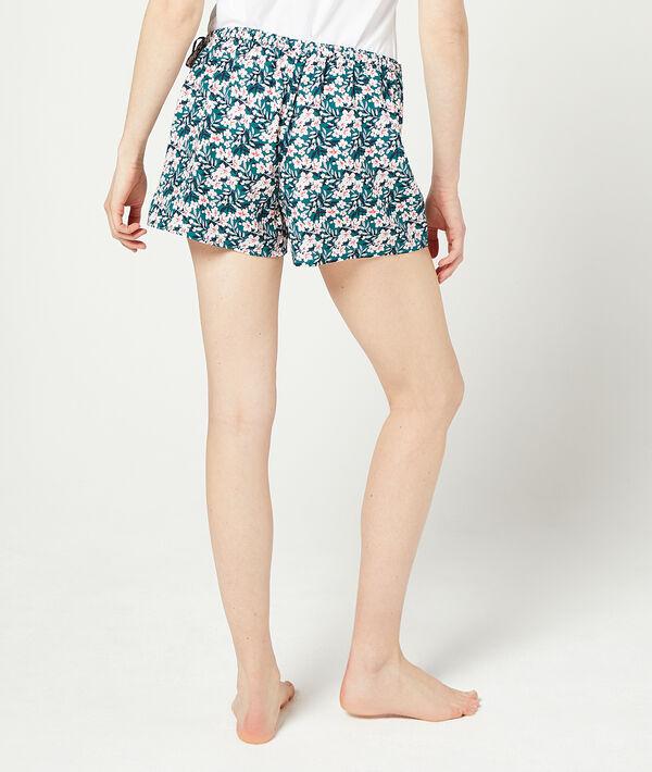 Wrap shorts in a floral print;${refinementColor}