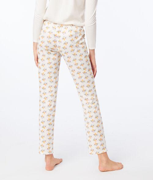 Elephant print trousers