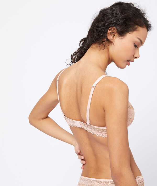 Bra n°4 : lace lightly padded bra