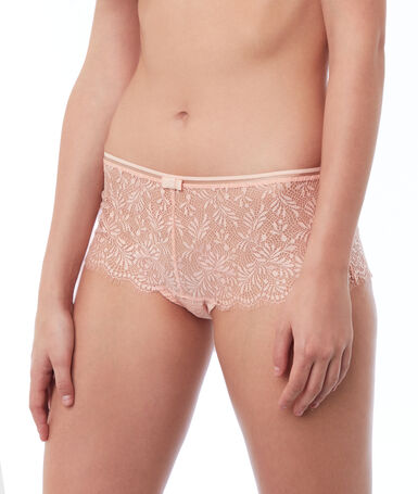 Lace shorts natural.