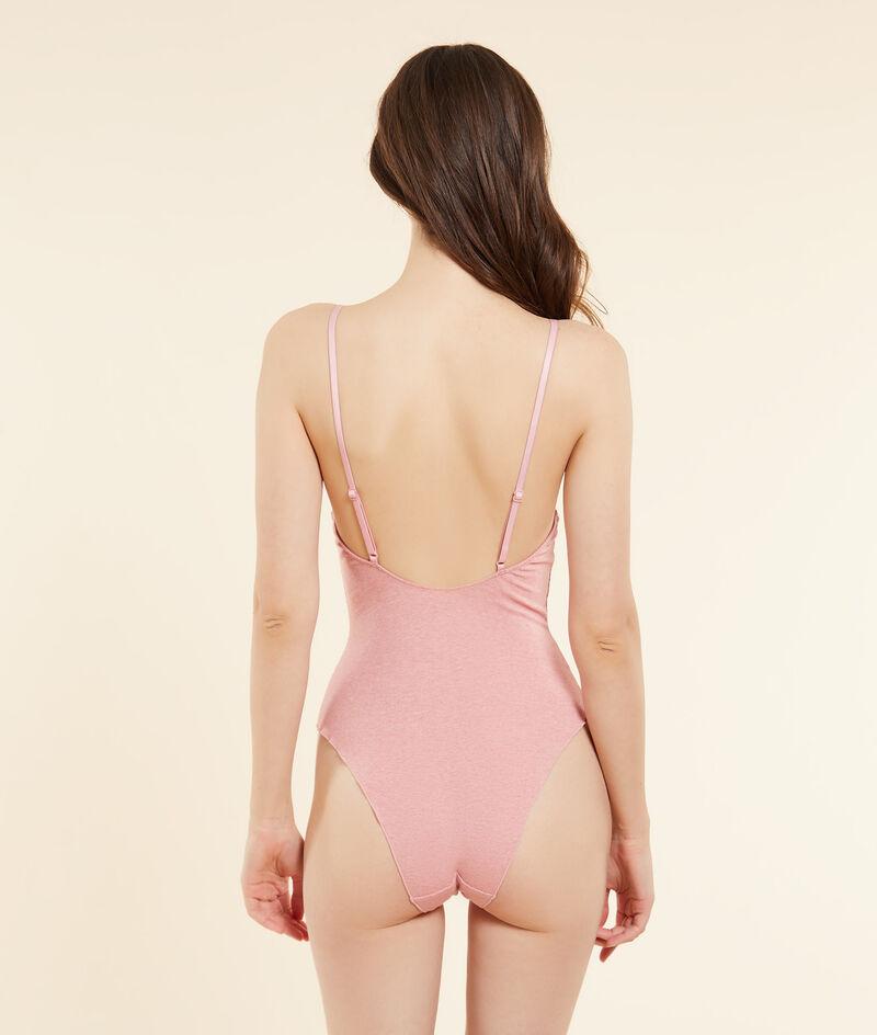 Ribbed bodysuit;${refinementColor}