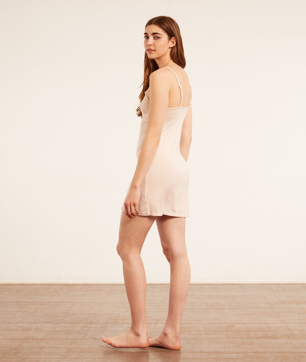 Nightdress with lace details;${refinementColor}