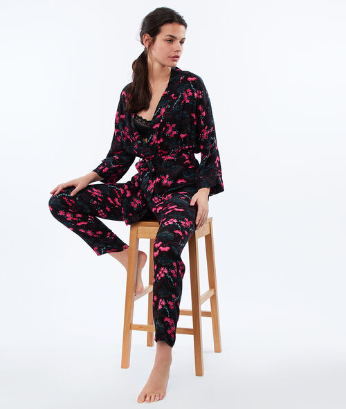 Japanese print pants