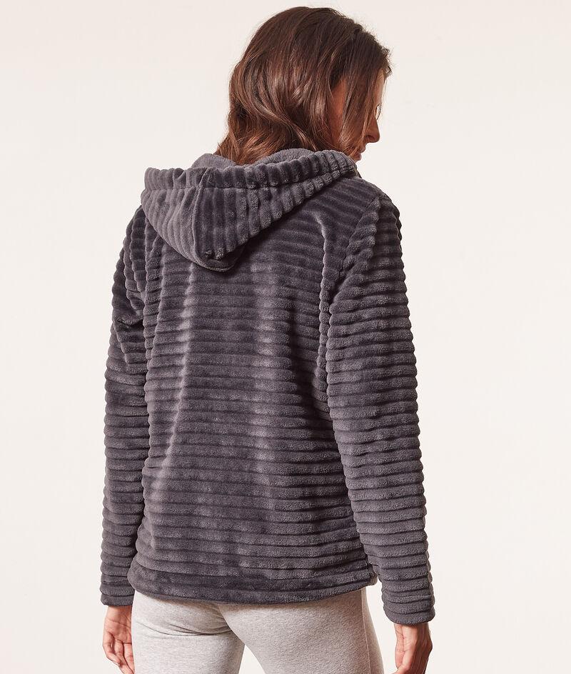 Striped pyjama jacket ;${refinementColor}