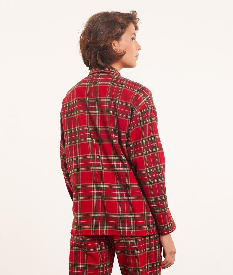 checked pyjama shirt ;${refinementColor}