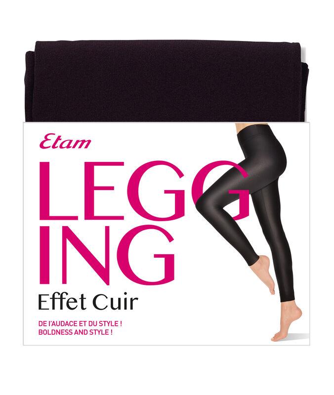 Leggings black.