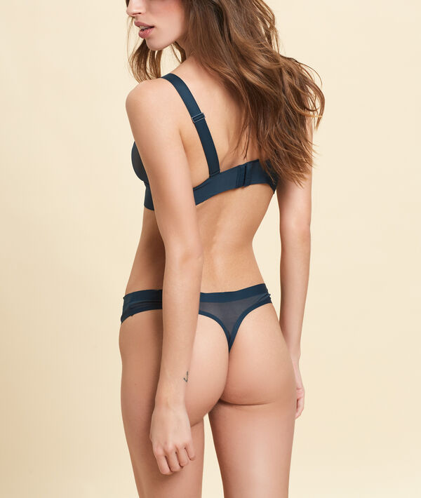 Tulle thong;${refinementColor}