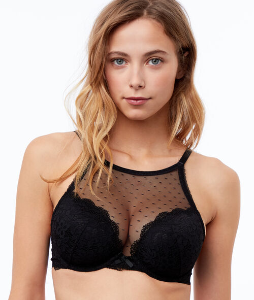 Bra no. 5 - lace padded bra