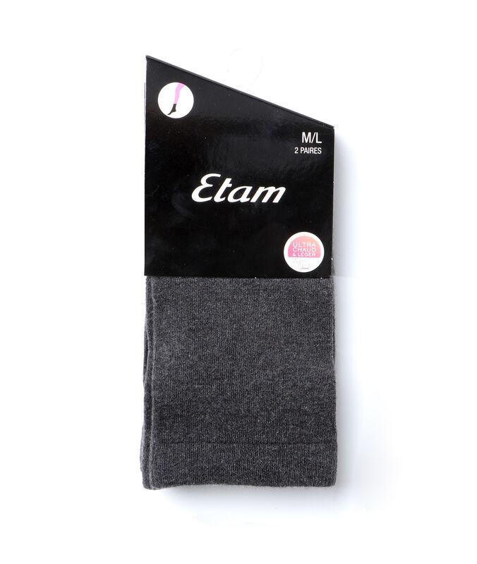 2 pairs of socks gray.