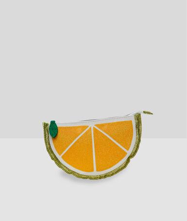Lemon toilet bag yellow.