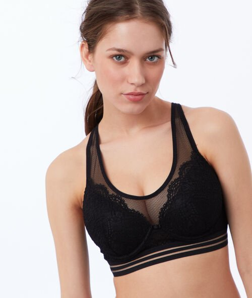 Bra no. 6 - lace padded bra