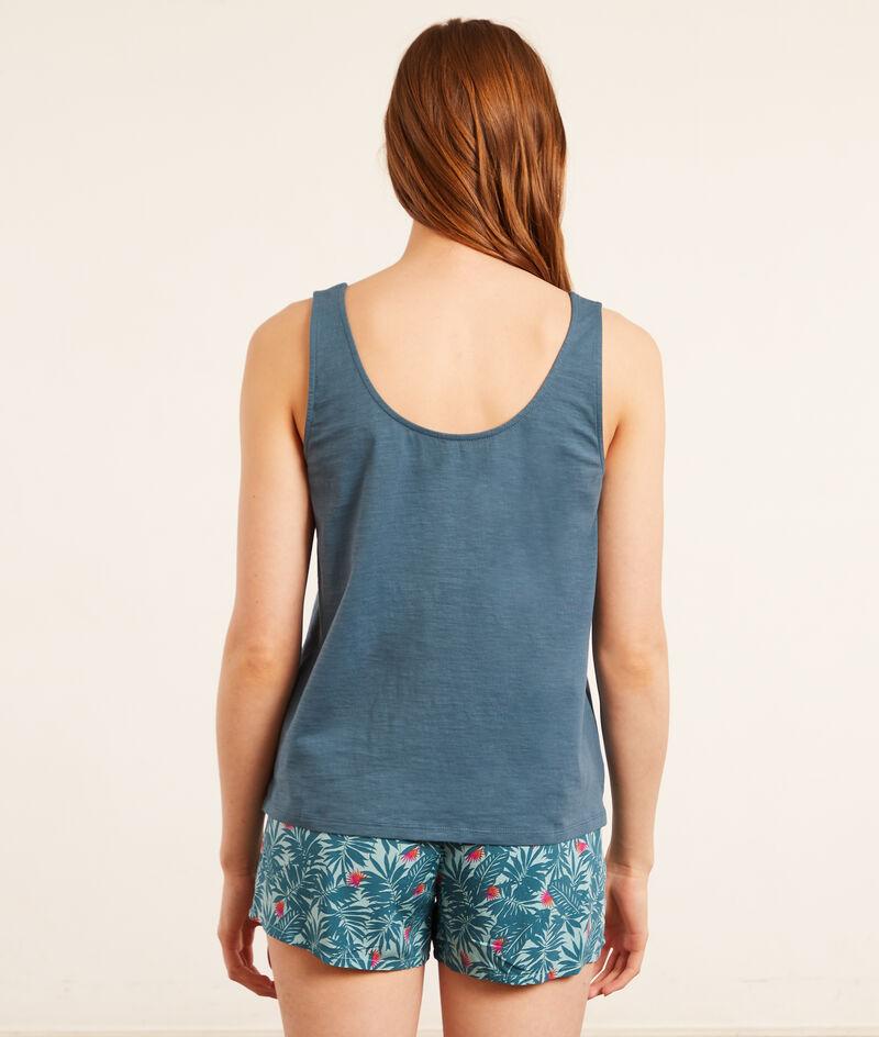 'Summer' pajama top;${refinementColor}