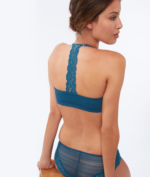 Bra no. 5 - Padded bra with racer back