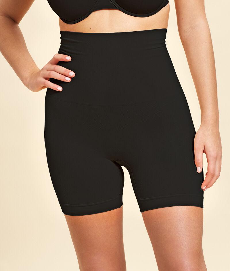 High waist sculpting panty - medium support;${refinementColor}