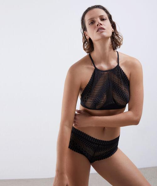 Non-wired triangle bra