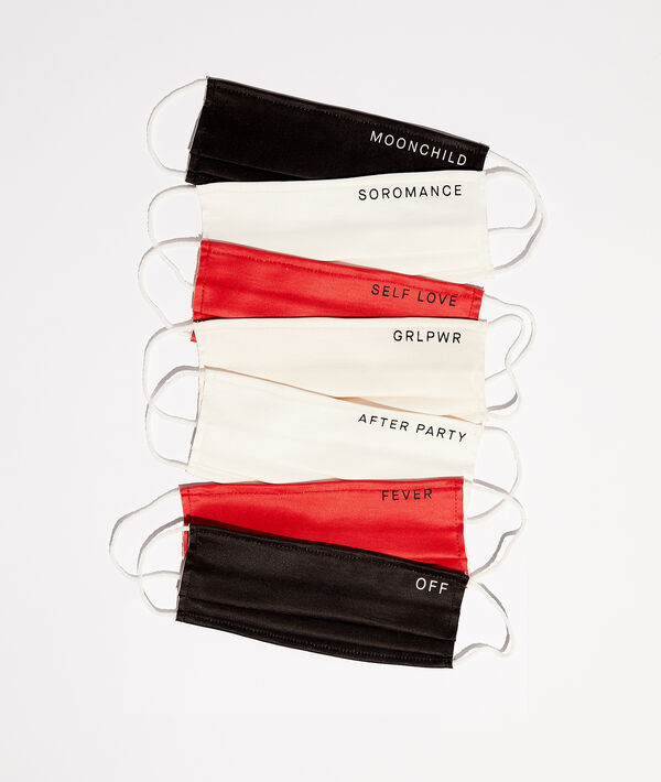 Set of 7 protective masks;${refinementColor}