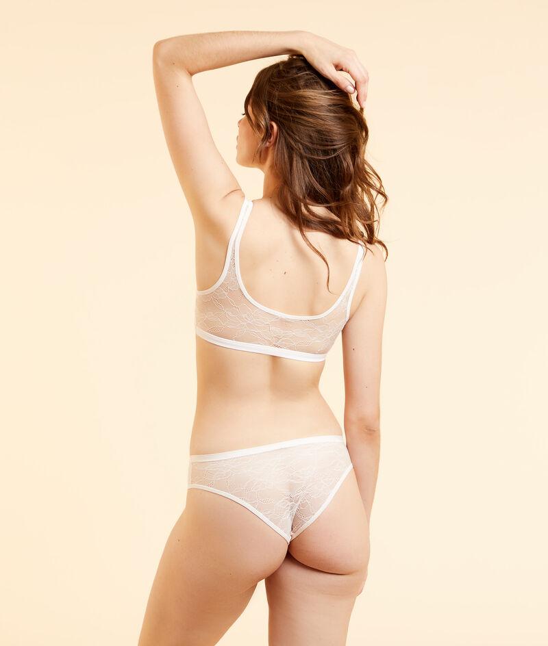 Reversible stretchy microfibre bra;${refinementColor}