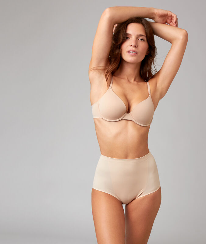 High waist briefs - level 3: figure shaping skin.