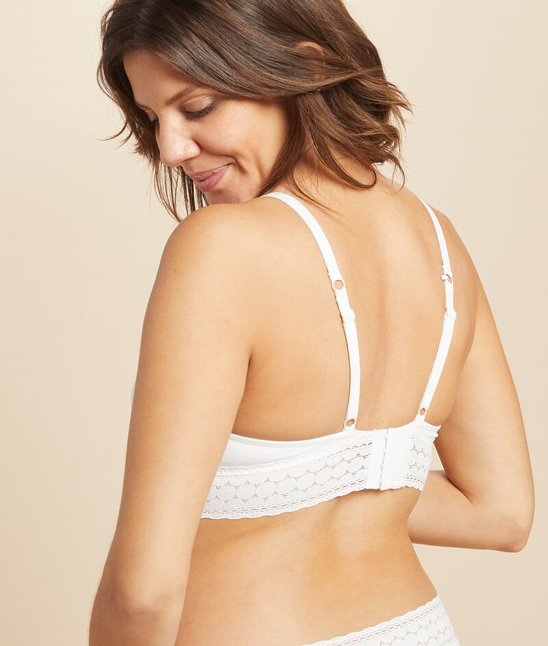 Bra n ° 8 - triangle without underwire, nursing clips;${refinementColor}