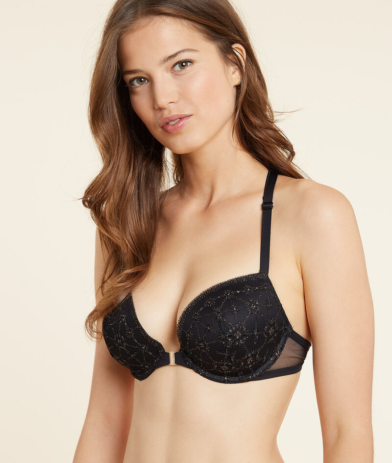 Bra No.5 push-up for a rounded shape. ;${refinementColor}