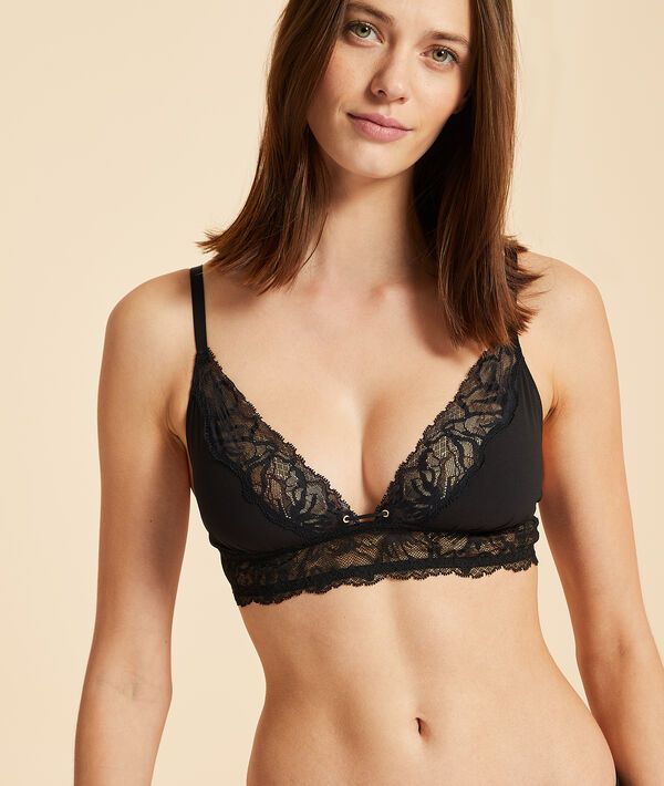 Triangle bra without underwire;${refinementColor}
