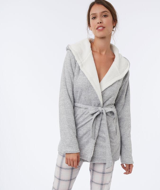Homewear jacket gray.