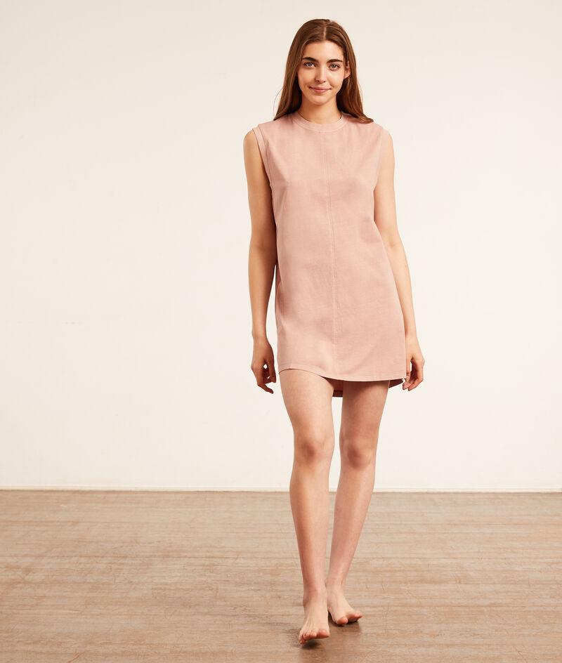 Sleeveless nightgown;${refinementColor}