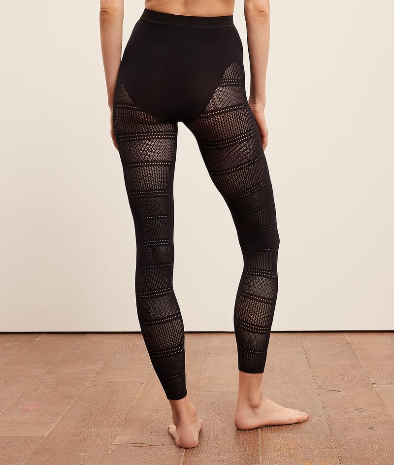 Stretchy mesh leggings;${refinementColor}