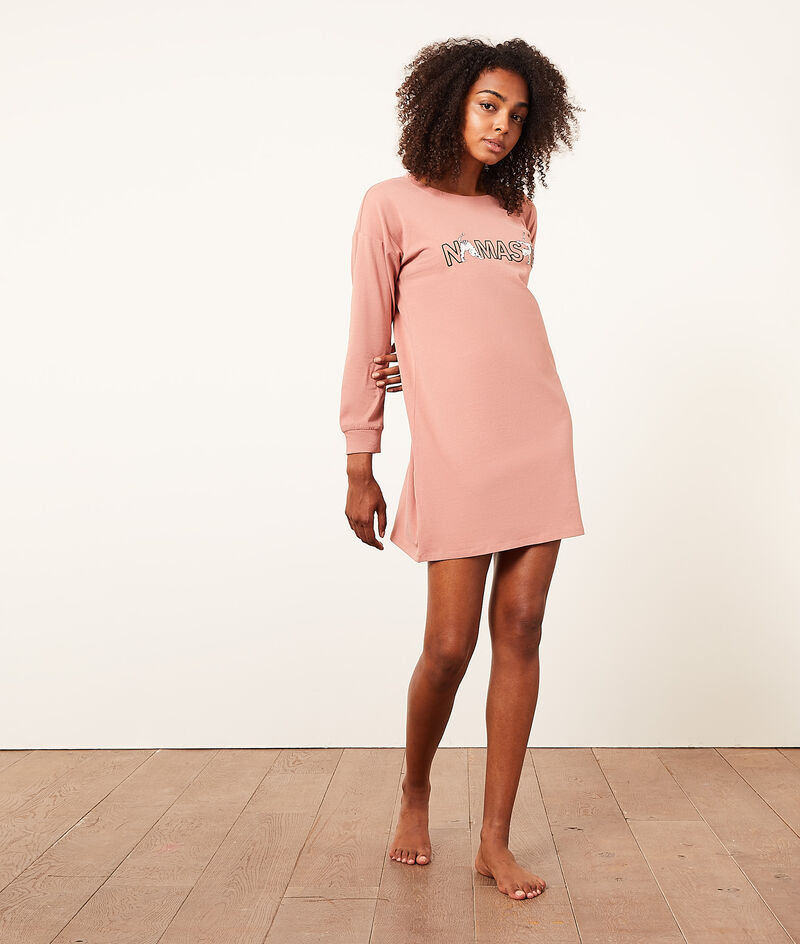 Cat print pyjama bottoms;${refinementColor}