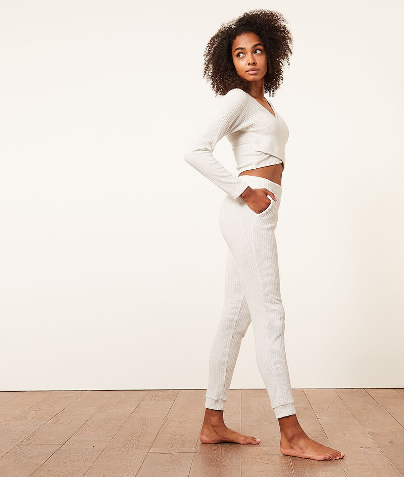 Ribbed Jogger Pants;${refinementColor}