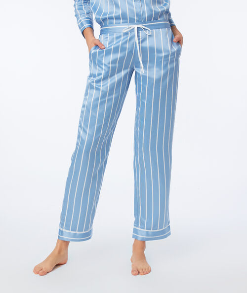 Satin pyjama trousers