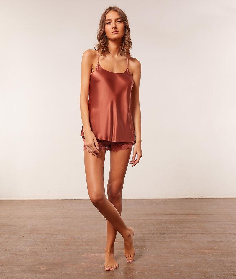 Silk shorts ;${refinementColor}