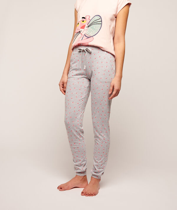 Printed trousers;${refinementColor}