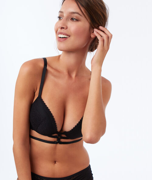 Bra no. 5 - Classic padded bra with strappy detail