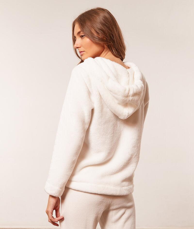 Hooded fleece jacket ;${refinementColor}