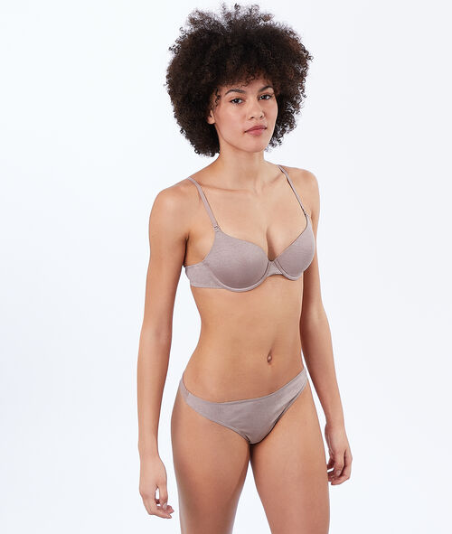 Micro padded demi cup