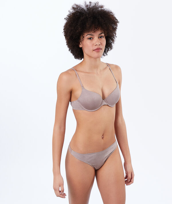 Micro padded demi cup;${refinementColor}