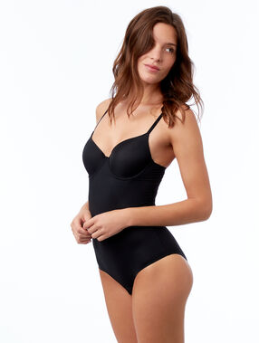 Shaping body - level 3 : smooth silhouette black.