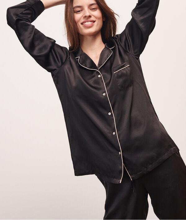 Silk Pyjamas shirt;${refinementColor}