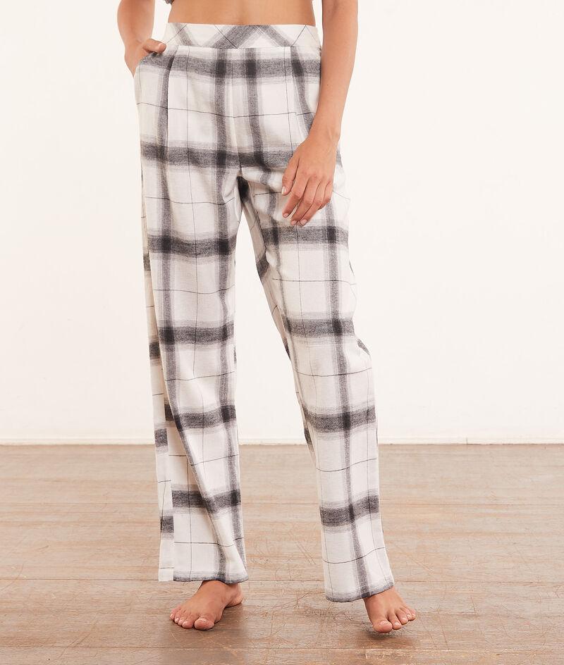 Checked pyjama bottoms;${refinementColor}