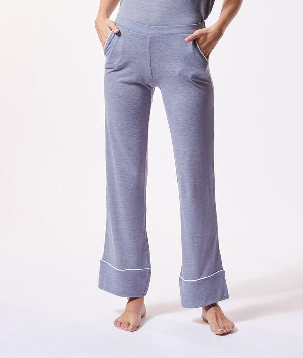 Plain wide-leg trousers;${refinementColor}