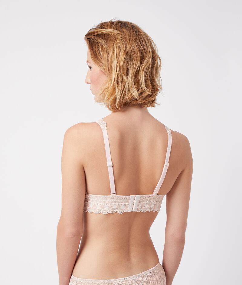 Bra No 8 - non-wired triangle bra, removabe pads ;${refinementColor}