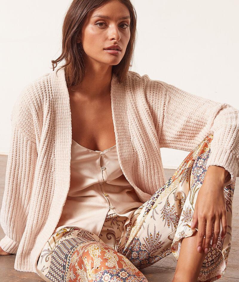 Knit robe ;${refinementColor}