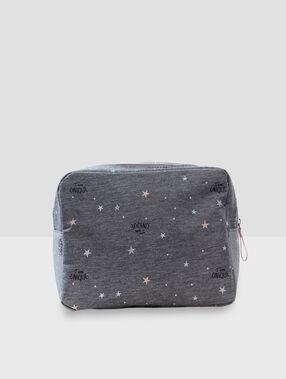Toilet bag gray.