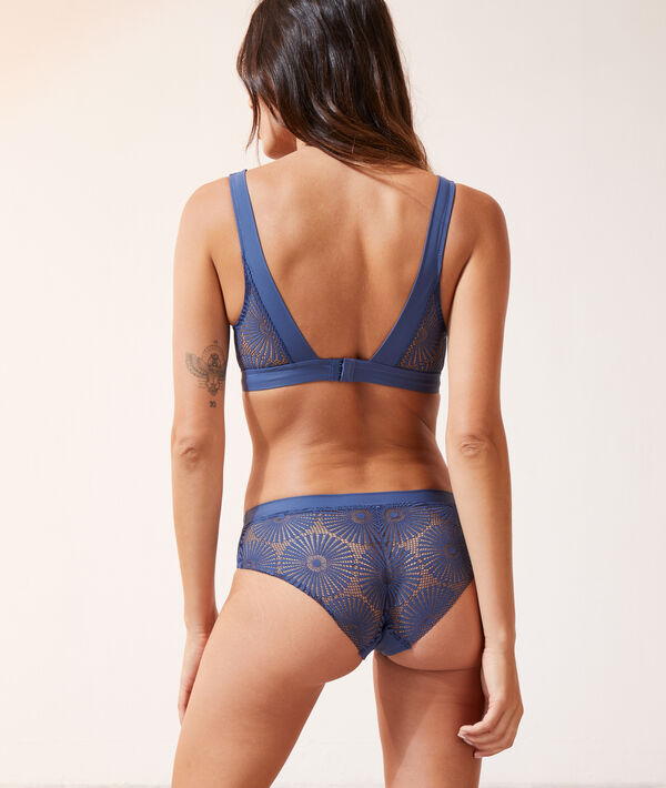 Lace French knicker;${refinementColor}