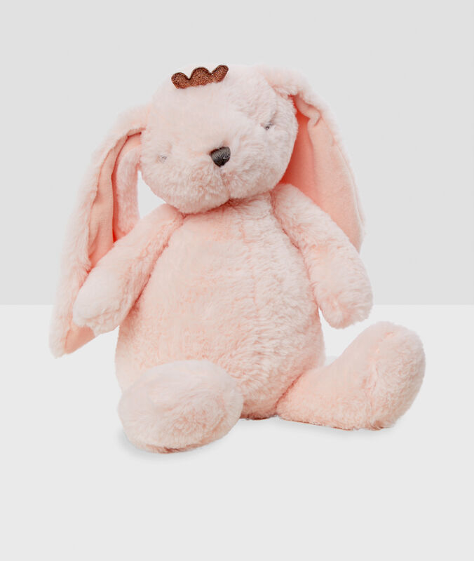 Bunny pajama line pink.