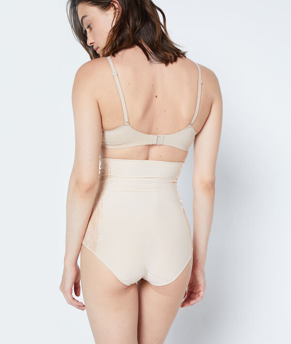 High waisted shaping briefs - Level 2: figure sculpting;${refinementColor}